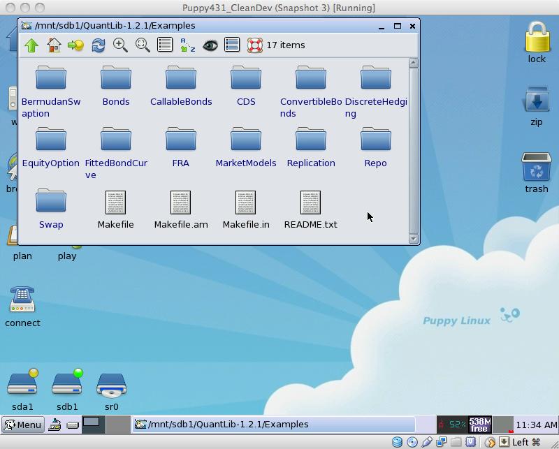 Setting up QuantLib in Linux – Fermat's Last Spreadsheet